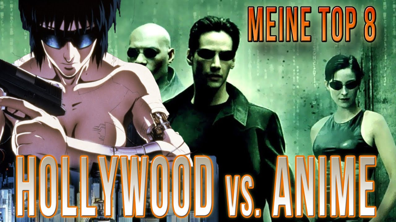 Anime-Vorlagen für Hollywood-Blockbuster! Hollywood kopiert! - YouTube