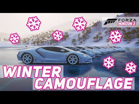 Forza Horizon 3 - Winter Camouflage Infected!
