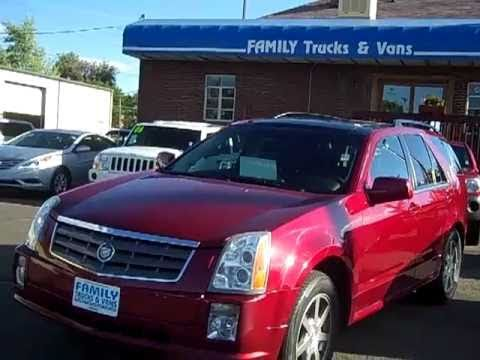 Family Trucks and Vans 2005 Cadillac SRX Stock B21637 - YouTube