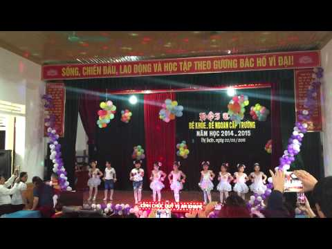 """Hội thi bé khỏe bé ngoan """" Lớp 5D Trường Mần Non Thị Trấn Đô Lương"""" Patch 1"""