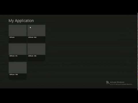 Windows 8 Programming Tutorial 6 - ESPN Feed - Event Handlers & XAML