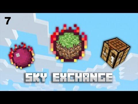 Curse Skyexchange Sky Block 7 серия Ветряк