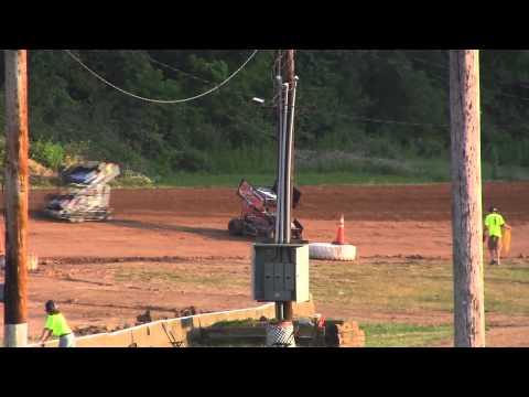 2012 Pa600 Speedweek Race #4 @ Clinton County Heat 1 Round 1