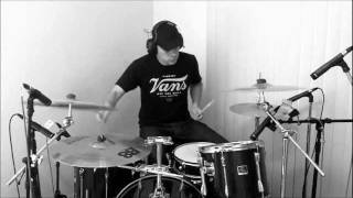 Crank That - Soulja Boy (Travis Barker Remix - Drum Cover)