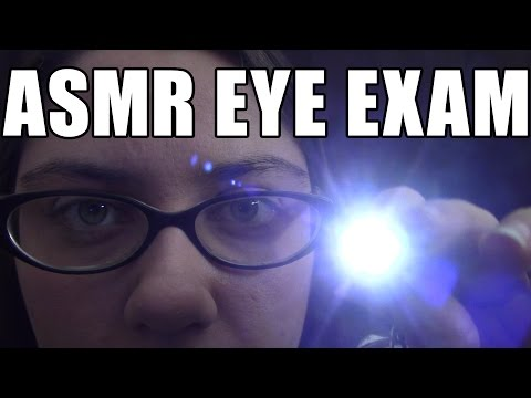 ASMR Soft Spoken Eye Exam Role Play