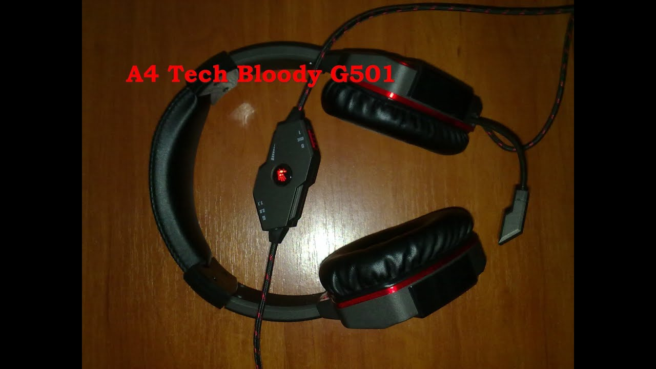 Bloody G501 headphone review