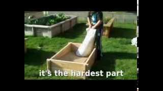 How To Build A Raised Planter Bed Garden Gro-o Groeasy Redwood Raised Planter Kit