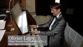 Organist Olivier Latry plays the Widor Toccata from Symphony No. 5