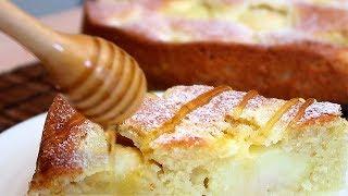 Яблочный пирог со сметанной заливкой Сказочный вкус