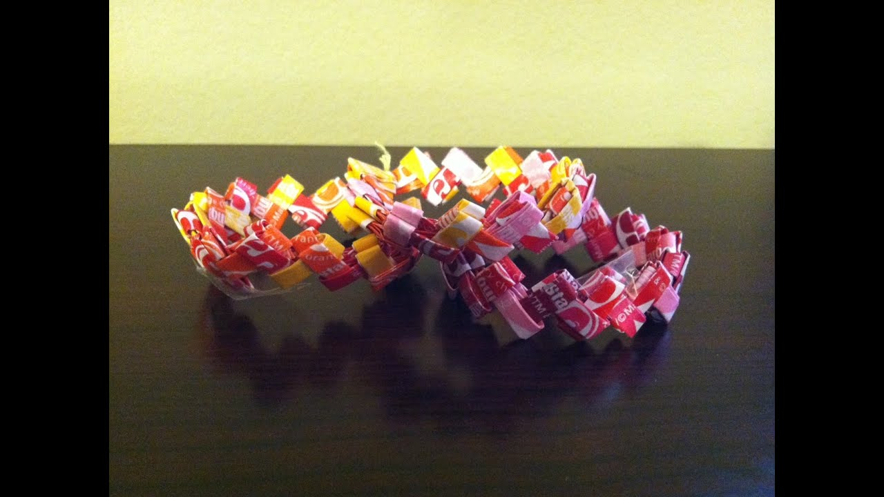 Candy Wrapper Origami Butterflies - Craftfoxes | 720x1280