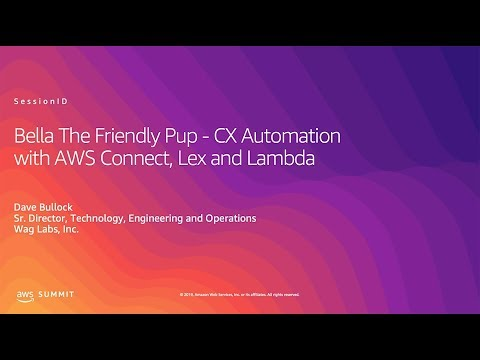 Wag: CX Automation with AWS Connect, Lex and Lambda