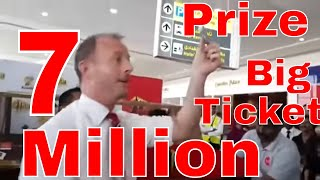 Big Ticket Draw Abu Dhabi 7 million Winner Live July 2018
