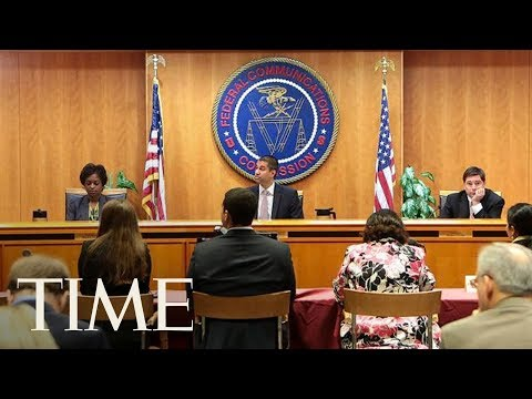 FCC Meeting Takes Unexpected Recess Following Security Threat During New Neutrality Vote   TIME