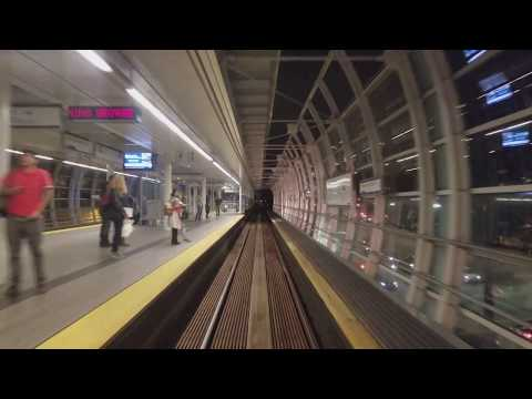 Vancouver SkyTrain: Expo Line Eastbound Pt. 1, Waterfront to Commercial - The Complete Ride 4K
