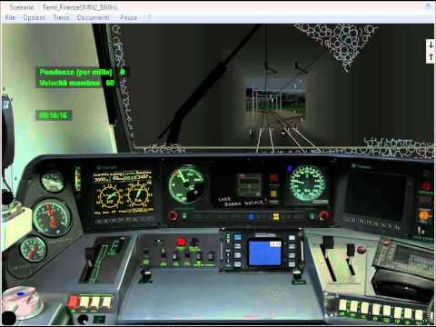 Simulatore Treno 5 02 Prova pilota