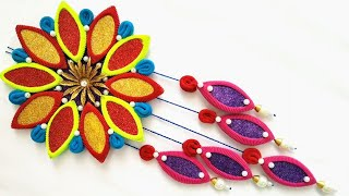 New Home Decoration Idea Out Of Waste Hair Bands | Diwali Home Decor
