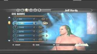 How to make Jeff Hardy on WWE All Stars Part 1