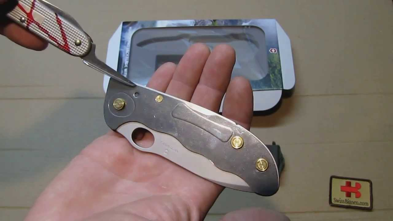 Victorinox Hunter Pro Lockblade With Pouch Youtube