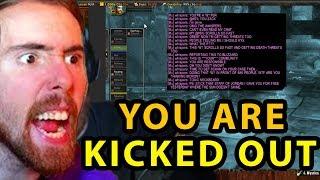 Asmongold EXPOSES Toxic Guild Member And Kicks Him