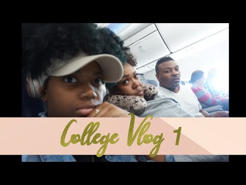 College Vlog 1: Road To NCAT & Move-In Day