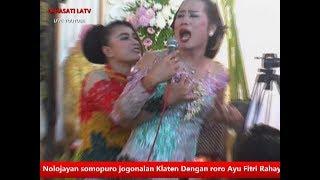 Insiden Mimin Onggo inggi dan rere Berantem di tempat hajatan Lewong