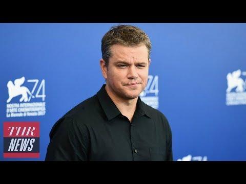Matt Damon Discusses Trump, George Clooney & His New Film 'Suburbicon' | THR News
