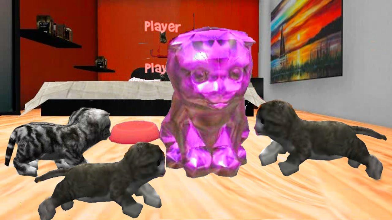 Игры про котят кошек и котов