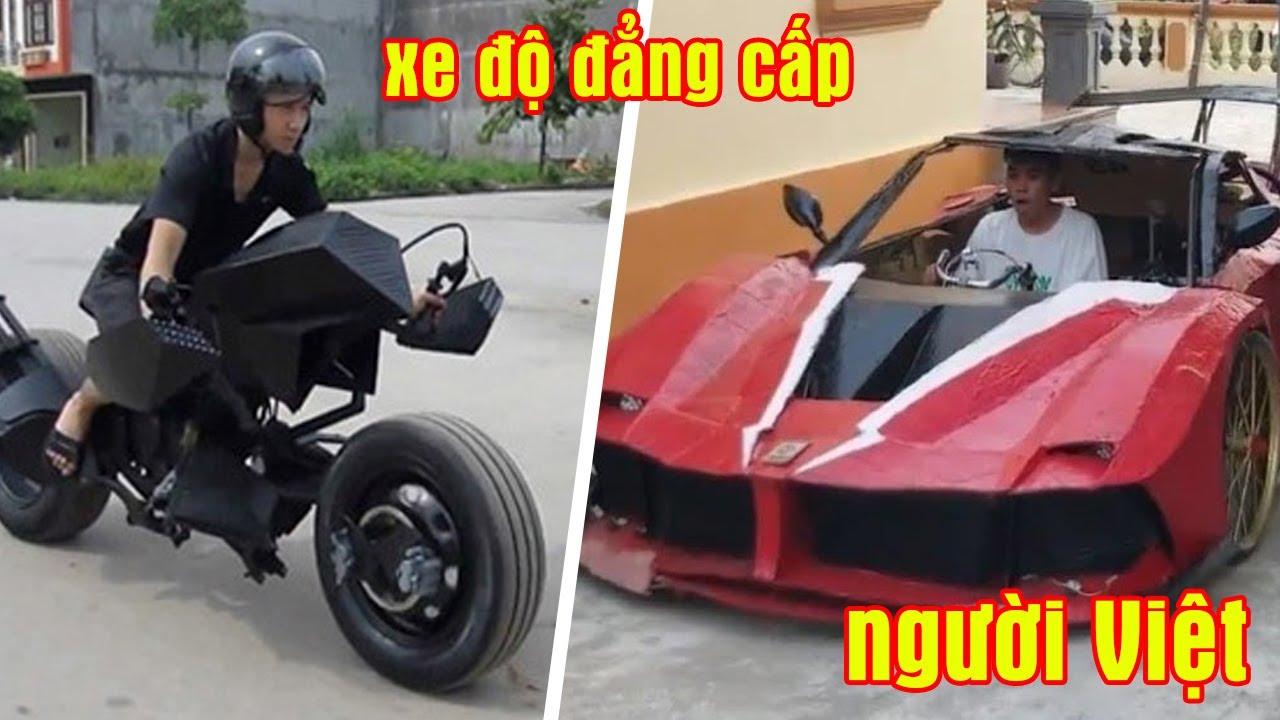 5 Siêu Xe ĐỘ Đẹp Nhất Việt Nam Nổi Tiếng Trên Thế Giới