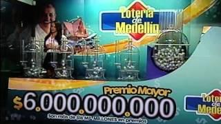 Sorteo de la Lotería de Medellín número 4253 - 16/01/2015