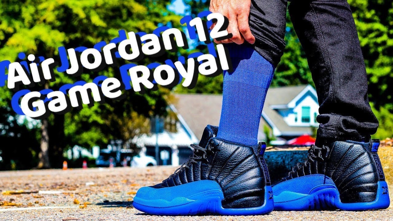 AIR JORDAN 12 GAME ROYAL BLUE GAME
