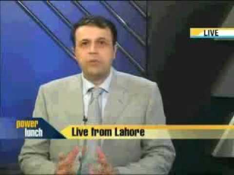 Junaid Iqbal with Mr. Hamesh Khan (President Bank of Punjab) on CNBC Power Lunch Part 1.flv