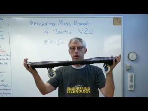 Measuring Mass Moment of Inertia - Brain Waves