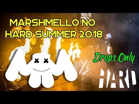 Marshmello - HARD Summer 2018 (Somente Drops)