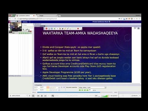 Somali Software Developer Graduates Mentoring Programme Part 2