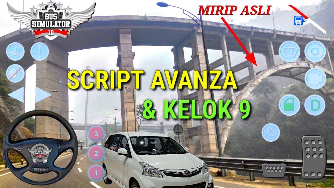 Mod Avanza Dan Kelok 9 Bus Simulator Indonesia Sumbar Youtube