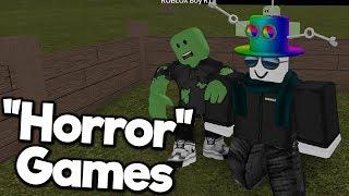 "Roblox ""Horror"" Games 2"