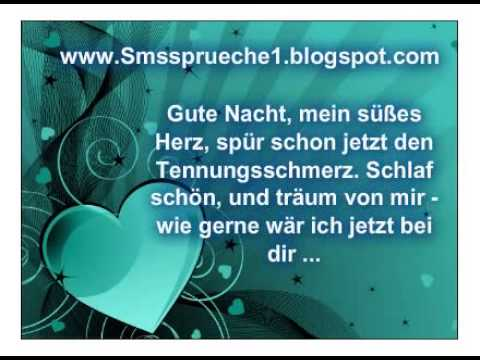gute nacht den spruch gleich per sms youtube. Black Bedroom Furniture Sets. Home Design Ideas