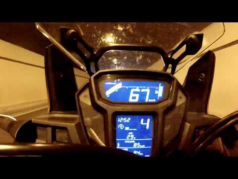 Honda Africa twin-Top speed 210 km