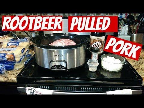ROOT BEER PULLED PORK~FOODIE FRIDAYS!