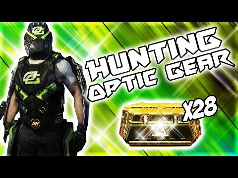 Hunting NEW OpTic Gaming Gear In Call Of Duty Advanced Warfare