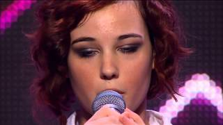 Repeat youtube video Bella Ferraro - Skinny Love - The X Factor Australia 2012 Audition (FULL) HQ