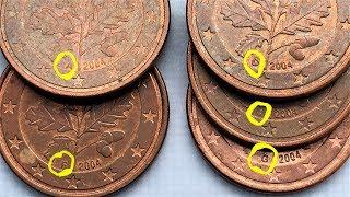 Germany 5 euro cent Coin Review ADFGJ 2 Cent Deutschland Münzprüfung