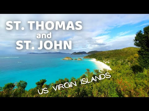 US Virgin Islands - Experience The Beauty Of St Thomas And St John - Travel Video 2019