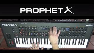 Sequential PROPHET X - Factory Presets Demo