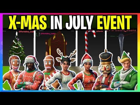 All Christmas Skins Fortnite.New Fortnite Christmas In July Event Coming Soon X Mas Skins And Event Coming Early Leaks