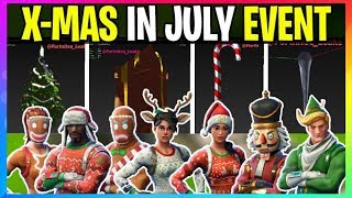 *NEW* Fortnite: CHRISTMAS IN JULY EVENT *COMING SOON* X-Mas Skins And Event Coming Early (Leaks)