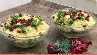 Праздничный салат с говяжьим языком