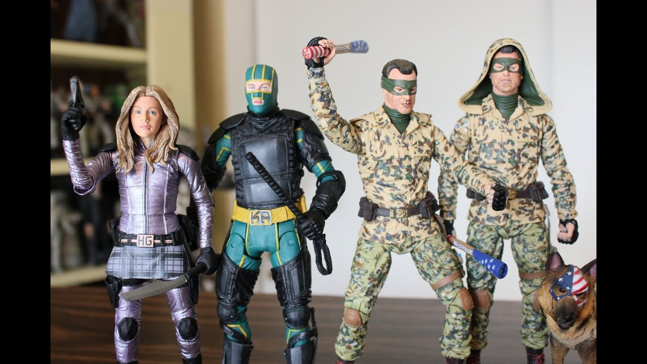 Neca Kick-Ass 2 Series 2 Figures Review - Youtube-7682