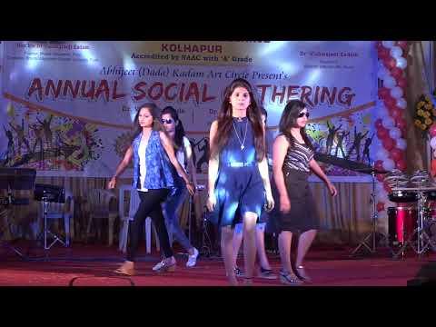fashion show in college / Gathering /Bharati vidyapeeth /2018