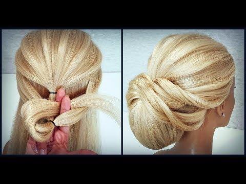 Красивые прически пошагово,как крепить шпильки.Легкая прическа.Easy hairstyle.How to attach studs thumbnail